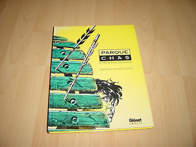 Barreiro/Risso - Parque Chas - Graphic Novel - Hardcover Comic Album - Glenat