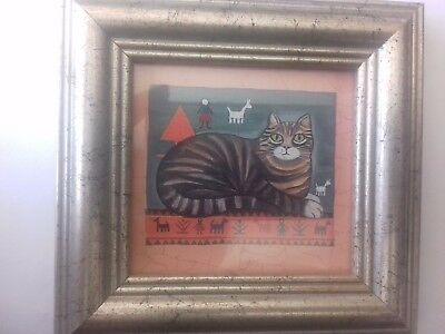 Sharon Jervis Cat painting
