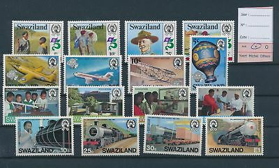 LH26827 Swaziland nice lot of good stamps MH