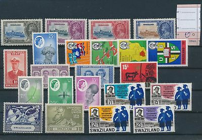 LH26829 Swaziland nice lot of good stamps MH