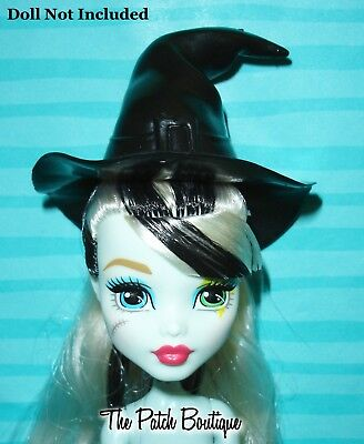Mattel Barbie Doll Replacement Black Witch Hat Fits Monster High Ever After Too!