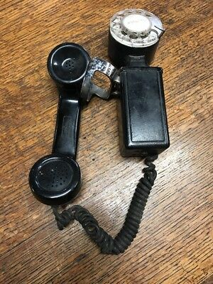Vtg. Western Electric Space Saver Rotary Telephone wall mount Phone G7 ?
