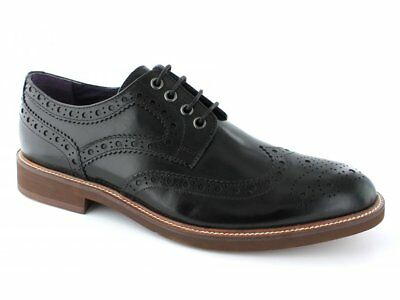 Gucinari FRANKIE Mens Leather Suede Funky Smart Casual Lace Up Brogues Tan//Navy