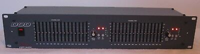 DOD 830 Series II Stereo 15 band Graphic Equalizer USA Excellent condition!