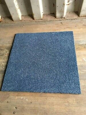Blue 50cm x 50cm Heavy Duty Contractor Carpet Tiles - Twenty thousand available
