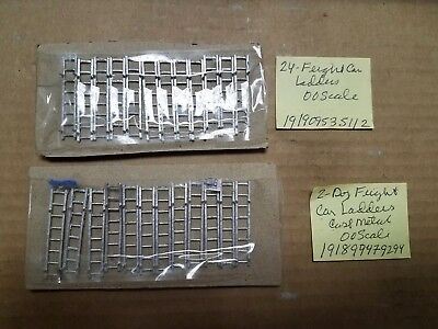 OO Train Craft FREIGHT CAR LADDER x48 Cast metal 00 New but NO PACKAGNG HO Parts