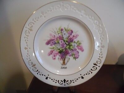 lenox 2000 new hampshire sixth colony limited edition colonial bouquet plate