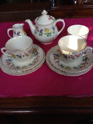 Royal Doulton Dovedale Tea Set for Two