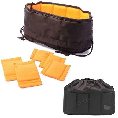 Large DSLR SLR Camera Flexible Insert Padded Parition Divider Lens Bag Box Case