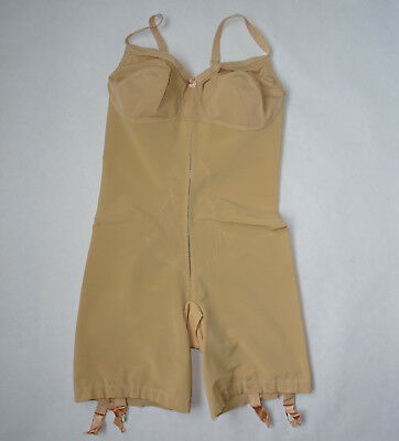 "Vintage All-in-one Corselette ""Warner's""  with Suspenders Size 40B Excellent"