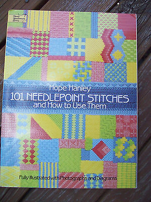101 Needlepoint Stitches and how to use them (by Hope Hanley)