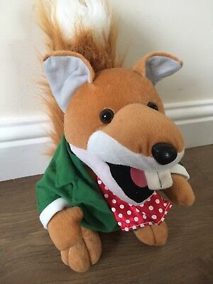 Basil Brush, 2007,  Retro Soft Toy, Collectable. Mint