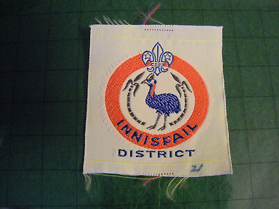 1960s Innisfail District (Queensland)) Australian Boy Scout Badge, Two Stars,