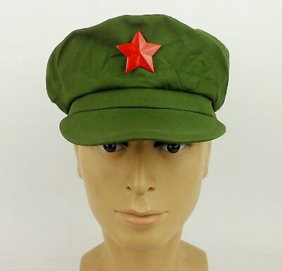 Surplus Chinese PLA Army Type 65 Cap Hat Chinese Army Cap Size M