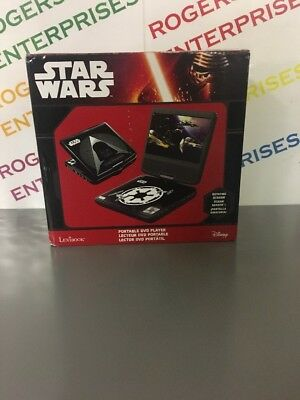 Lexibook Star Wars Portable DVD Player With Remote And In-Car Charger NEW in Box