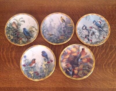 Lenox Nature's Collage Plate Collection by Catherine McClung  Set of 5