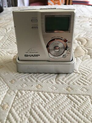 Sharp Md Portable Recorder Md Dr 77 S