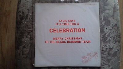 "Kylie Minogue - 12"" Celebration - alternative sleeve - UK issue Pwl"