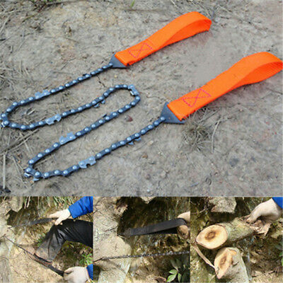 Survival Hand Gear Chain Saw Emergency Camping Self-Rescue Kit Tool Pocket
