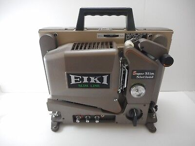 Eiki Slim Line SSL-0 16MM Movie Projector Vintage and Very Rare Working