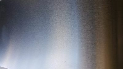 """10 Gauge Stainless Steel #4 Brushed 304 Sheet Plate 12"""" x 24"""""""