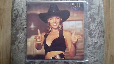 """12"""" Kylie Minogue - Never too Late - UK issue Pwl"""