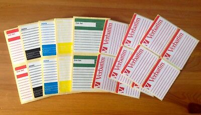 Recordable Mini Disc Labels (approx. 100)