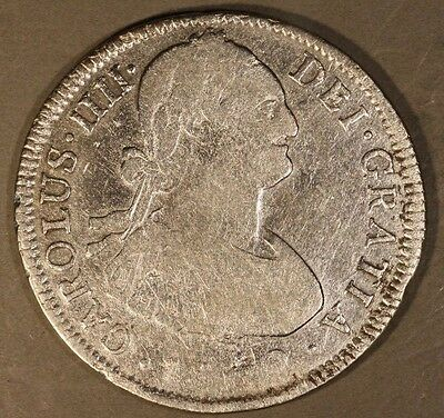 1802 PTS PP Bolivia 4 Reales (Date Difficult to Read)   ** FREE U.S. SHIPPING **