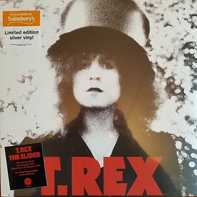 Marc Bolan T.rex    The Slider   1.000 Only    Silver Vinyl    Sainsbury Special