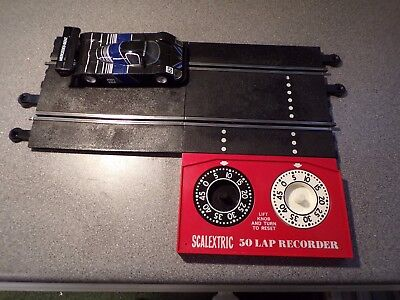Scalextric Vintage C-272 50 Lap Recorder And Half Straight  Pt/59 Working