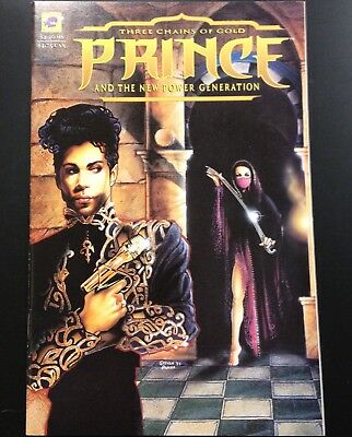Prince and The New Power Generation: Three Chains of Gold Comic Book