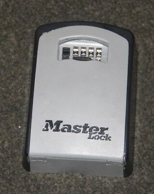Master Lock Wall Mounted Combination Access Key Safe