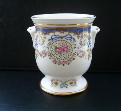 The Rothschild Collection-Waddesdon Manor small pot-inspired by Sevres decoratio