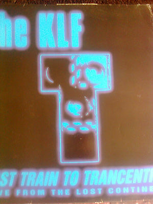 """The Klf 12"""" Vinyl Last Train To Trancentral"""