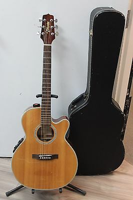 Takamine EG540SSC Acoustic Electric Guitar - Natural w/hard case