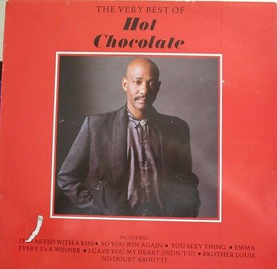 The Very Best Of Hot Chocolate  Hot Chocolate Vinyl Record
