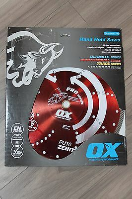"OX Pro Series OX-PU10-14 14"" Wet/Dry Hand Held Saw Blade"