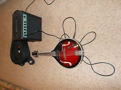 Stagg M50E Electro/Acoustic Mandolin with Amp