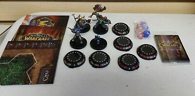 World of Warcraft Miniatures Game Starter Set - Complete and in Great Shape
