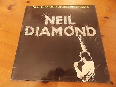 Neil Diamond Vinyl 20 Golden Greats