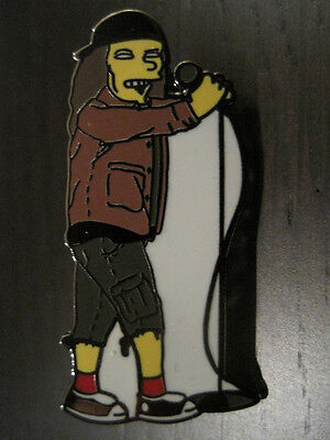 "Eddie Vedder Simpsons 1.5"" PIN PJ - Hard Enamel LIMITED Edition of 100"