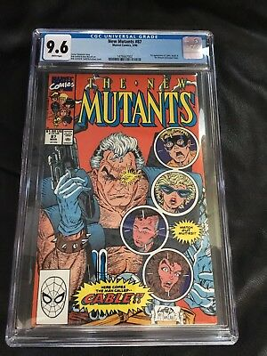 The New Mutants #87 CGC 9.6 white  (Feb 1991, Marvel) 1st appearance Cable
