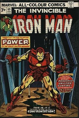 Iron Man #69 Very Glossy Cover White Pages All The Viillains!