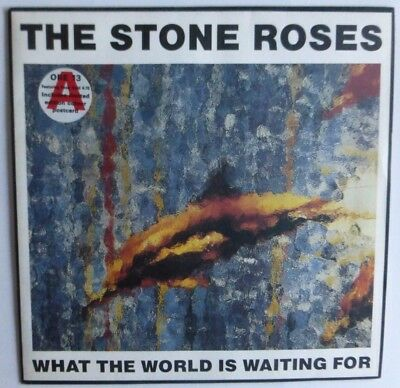 "The Stone Roses - What The World Is Waiting For 1989 7"" Vinyl Single Ore13"