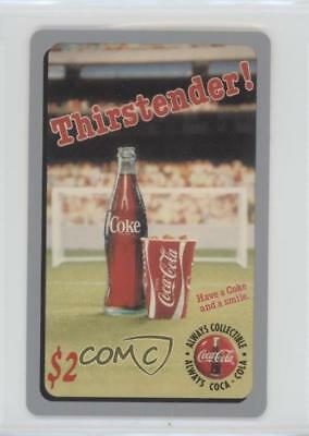 1995 1995-96 Score Board/Sprint Coca Cola Phone Cards Thirstender! ($2) Card 1md