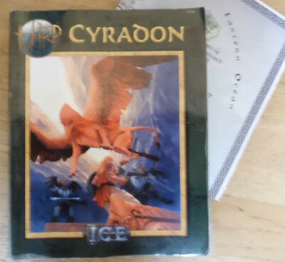 Cyradon, High Adventure Roleplaying, HARP, ICE, incl. Maps Belynar and World