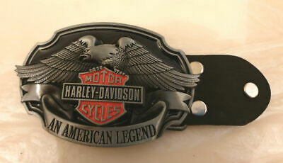 Maltese Cross HD An American Legend Biker Belt Buckle-Solid Built