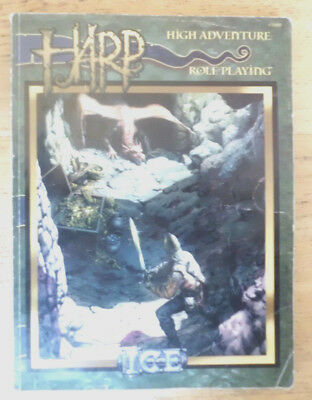 High Adventure Roleplaying, HARP, Core Rulebook, ICE 3000