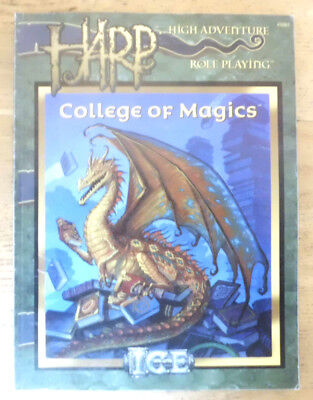 High Adventure Roleplaying, HARP, College of Magics, ICE 3003