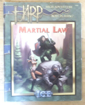 High Adventure Roleplaying, HARP, Martial Law, ICE 3001